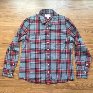 J.CREW Flannel Boy Shirt